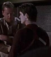 3x15 CTU ballistics agent examing Jack Bauer's firearm