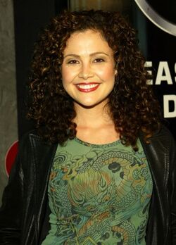 24- Reiko Aylesworth at Season 3 DVD party