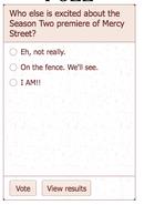 Main Page Poll Sample