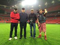 24 Wembley Stadium cast crew