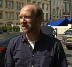 24 LAD- location manager Tom Goad