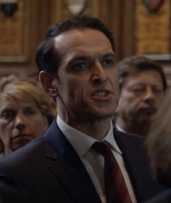 9x03 parliament member angry