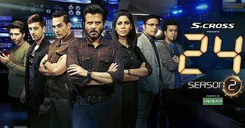 24 India season 2 poster