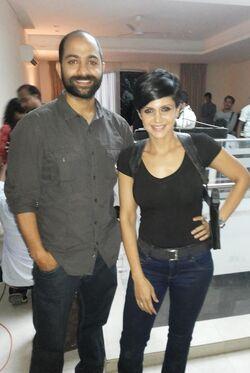 Anup Sharma behind the scenes