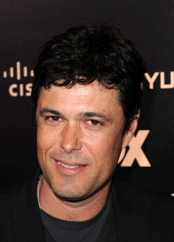 Carlos Bernard at 2010 FOX series finale party