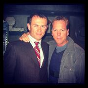 24 Ellis and Kiefer on-set of Day 3