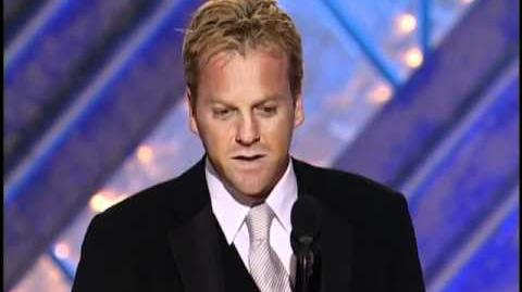 Kiefer Sutherland Wins Best Actor TV Series Drama - Golden Globes 2002