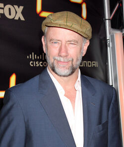 24 series finale party in 2010- Xander Berkeley