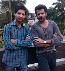 Gaurav Bakshi behind the scenes