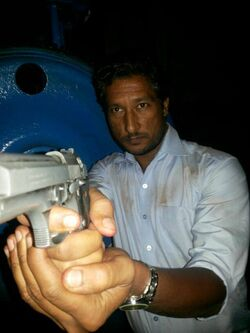 Bhupesh Singh behind the scenes