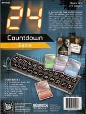24 Countdown back of box