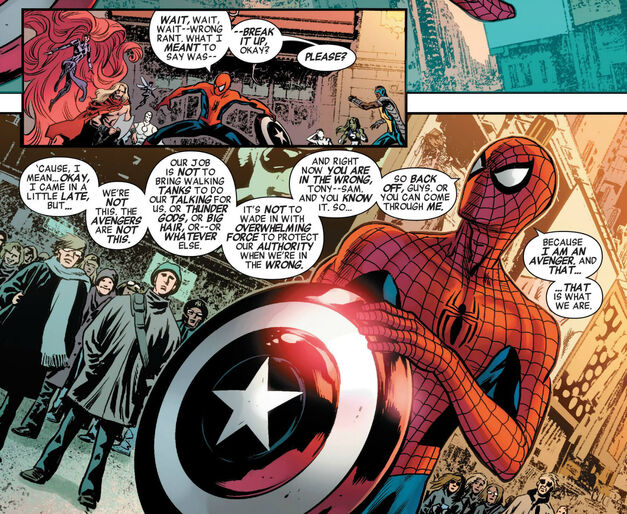 Spider-Man Captain America and the Mighty Avengers 3