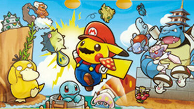 Mario Pikachu Crossover Toys Are Worth Flying to Japan