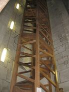 Salisbury Cathedral, tower interior, uppermost spiral staircase