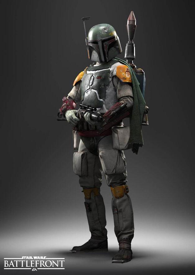 Boba Fett in Star Wars Battlefront