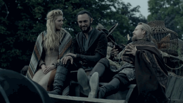 Vikings season 3 Lagertha Athelstan Ecbert