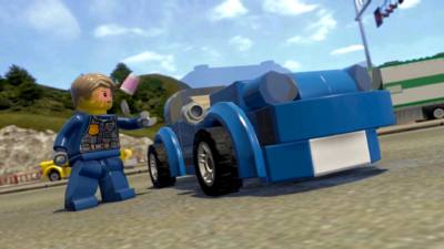 LEGO City Undercover: Vehicles Trailer
