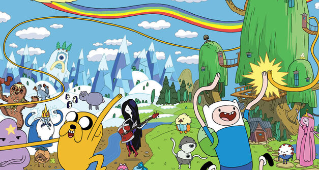 Weird Adventure Time creatures