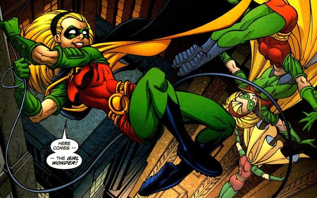 Robin Stephanie Brown Batman