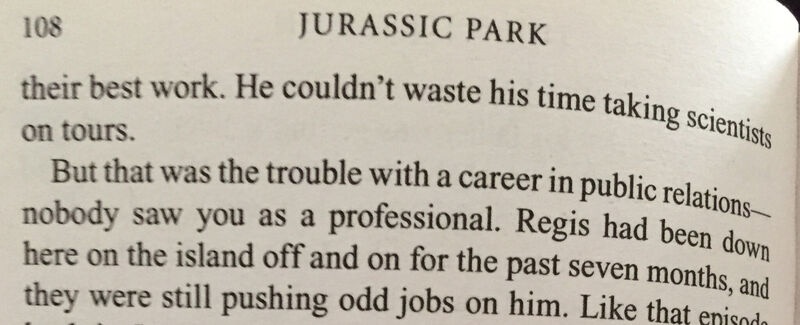 jurassic park quote Chricton