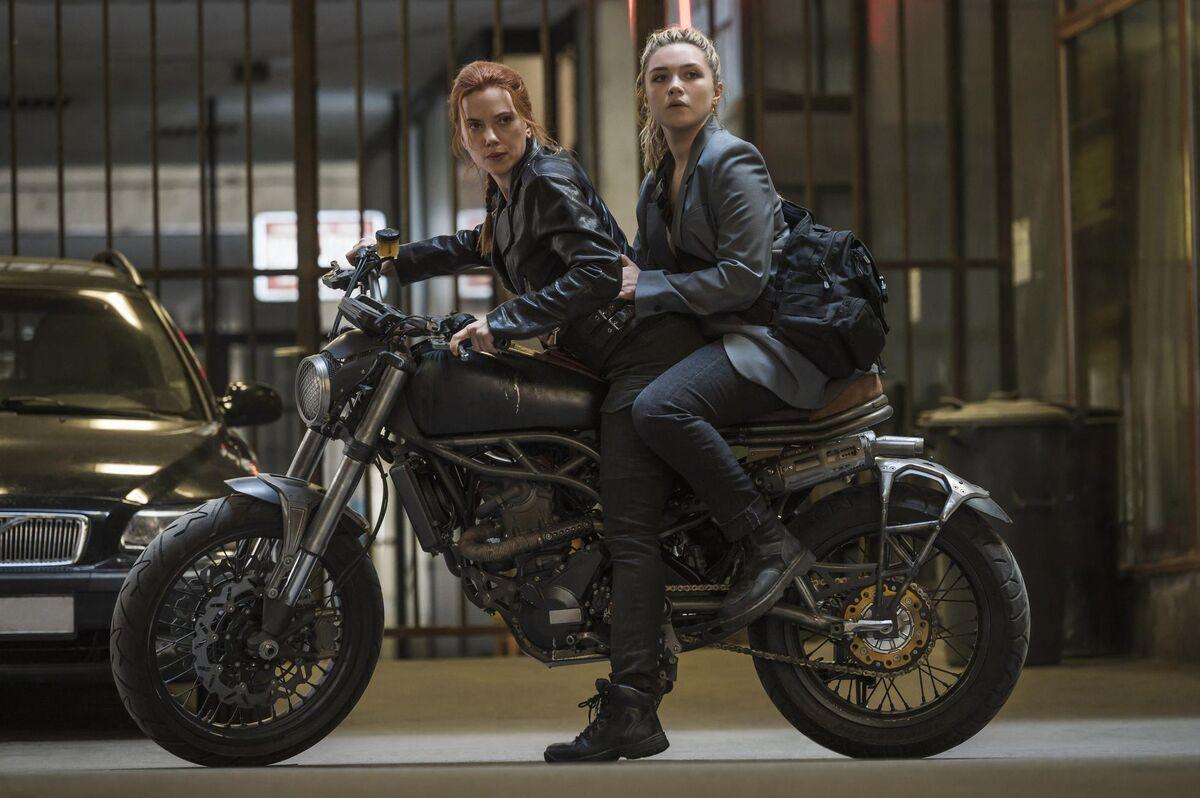 Black Widow and Yelena Bulova