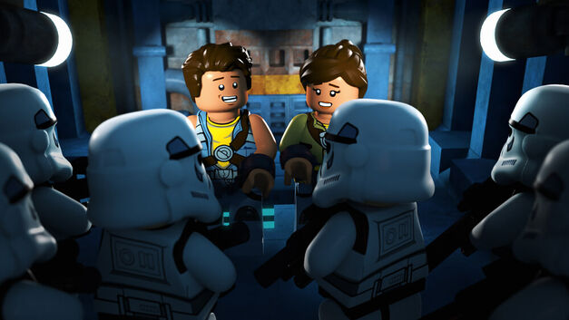"LEGO STAR WARS: THE FREEMAKER ADVENTURES - Introducing new heroes and villains to the LEGO Star Wars universe, the animated television series ""LEGO Star Wars: The Freemaker Adventures"" will premiere MONDAY, JUNE 20 (10:00 a.m. EST) on Disney XD. (Disney XD)"
