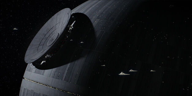 rogue one death star awesome