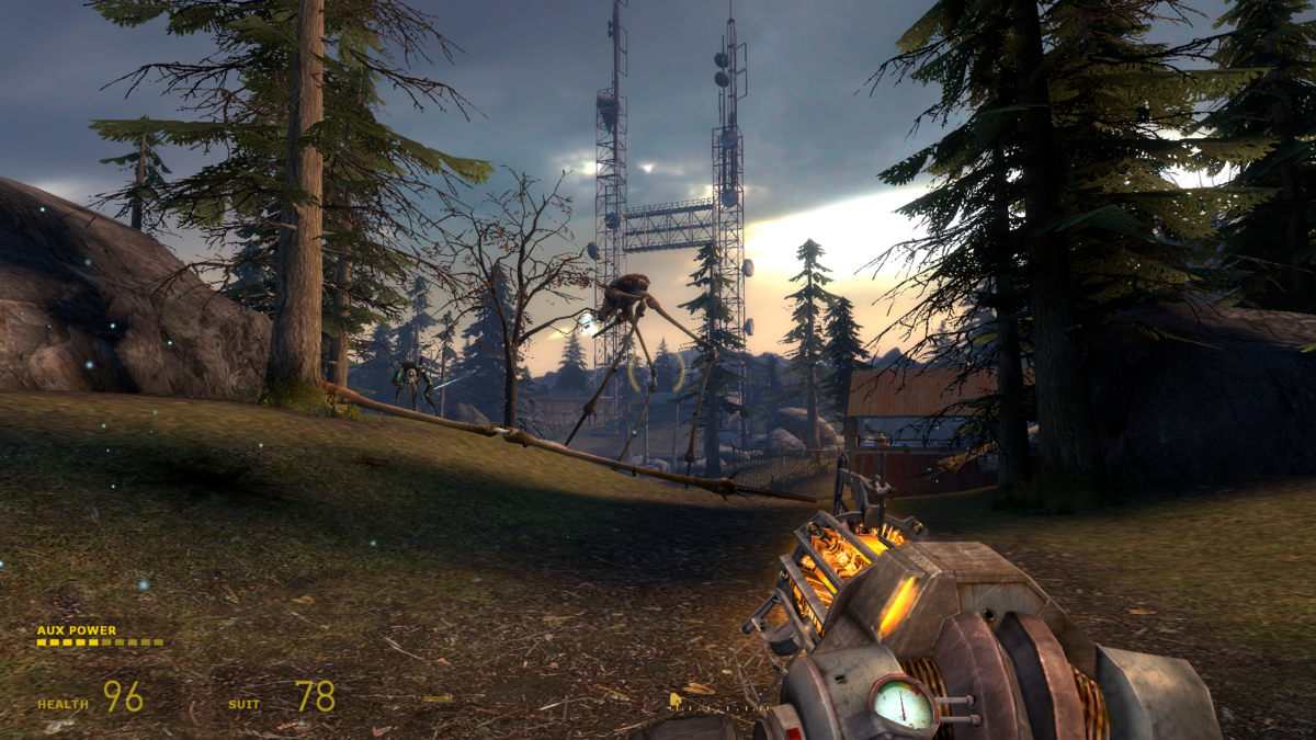 Half-Life 2: Episode 2: The battle for White Forest