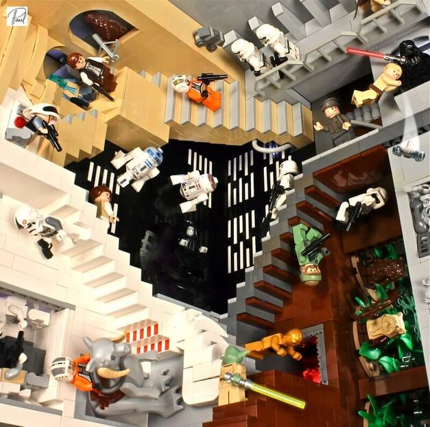 LEGO Star Wars Escher