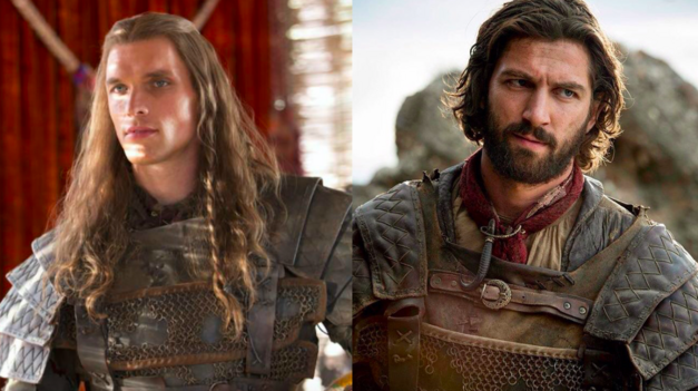 Game of Thrones Ed Skrein and Michael Huisman as Daario