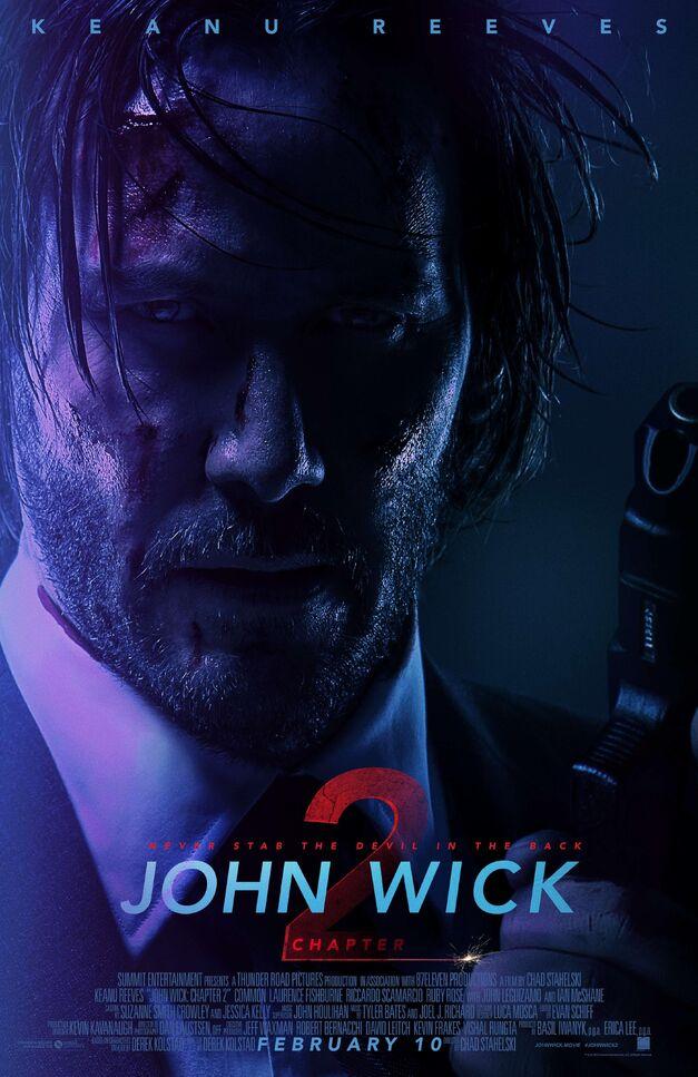 john wick chapter 2 final poster