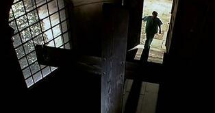 Entering-the-church