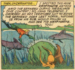 Someone should have told the fish that Kryptonite causes cancer.