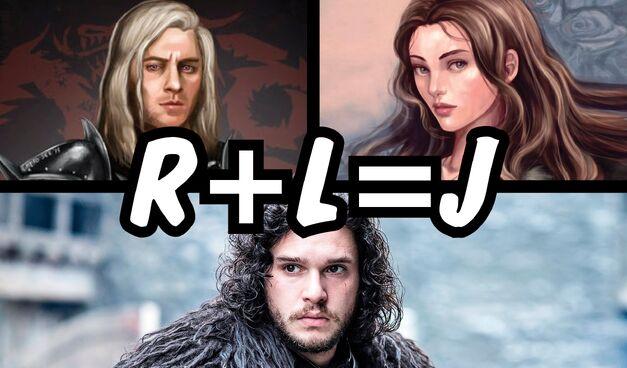 jon snow r + l = j