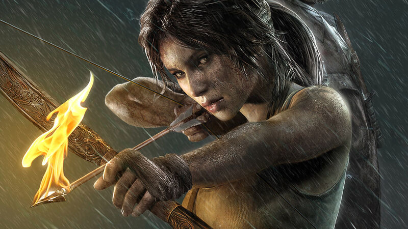 tomb raider game lara croft actress
