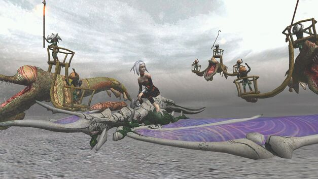 A screenshot of Panzer Dragoon Orta for Xbox.