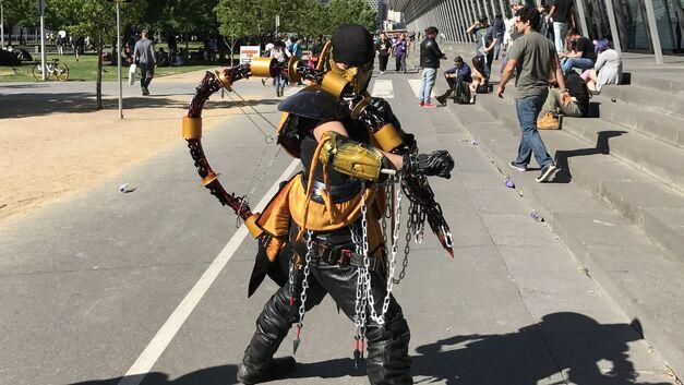 PAX Aus cosplay Scorpion
