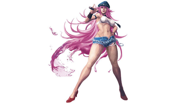 Poison Final Fight - Genderless Game Characters
