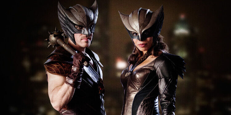Hawkman & Hawkgirl as they appear on Arrow.
