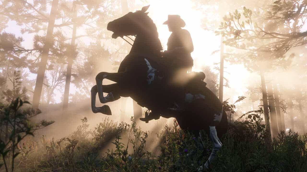Red Dead Redemption 2 Horses How Grooming Leads To Zooming Fandom