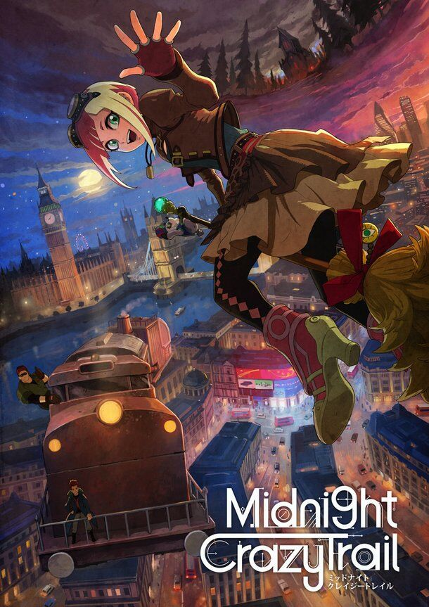 15 must-see winter 2018 anime Midnight Crazy Trail
