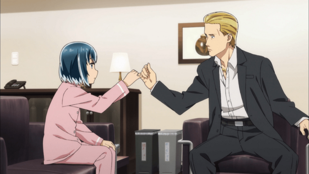 enlgish dubbed anime to watch this spring 2018 Hinamatsuri