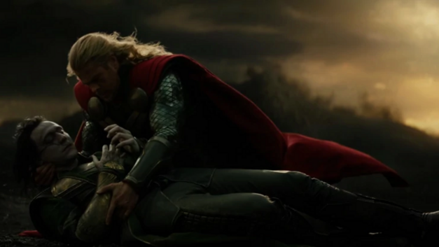 Loki seemingly dies from his wounds