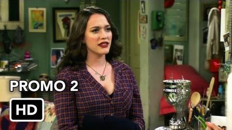 "2 Broke Girls 2x07 Promo 2 ""And the Three Boys With Wood"" (HD)"