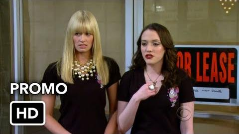 "2 Broke Girls 2x17 Promo ""And the Broken Hip"" (HD) ft"