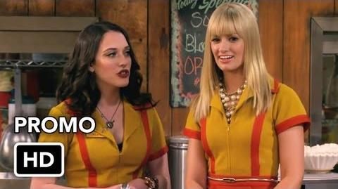 "2 Broke Girls 2x07 Promo ""And the Three Boys With Wood"" (HD)"