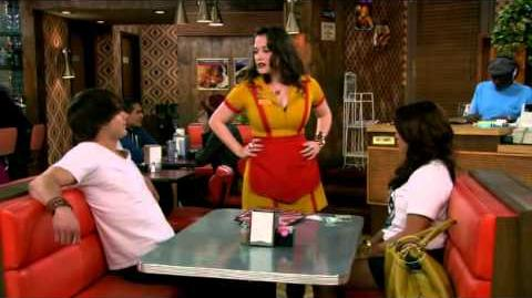 2 Broke Girls - T-Shirt Gurlfriend Clip (S01E03 And Strokes of Goodwill)