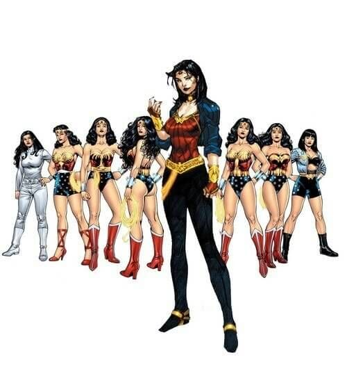 wonderwomanversions