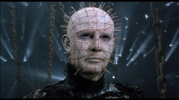 Pinhead lives his own personal hell.. In terrible sequels.