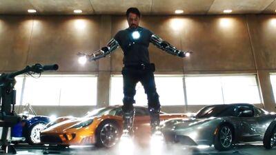 Tony Stark's Best MCU Rides, Ranked